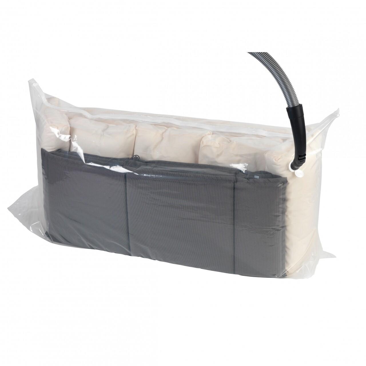 Punga de vidat, WENKO XXL, 50x180x90 cm, plastic, transparent