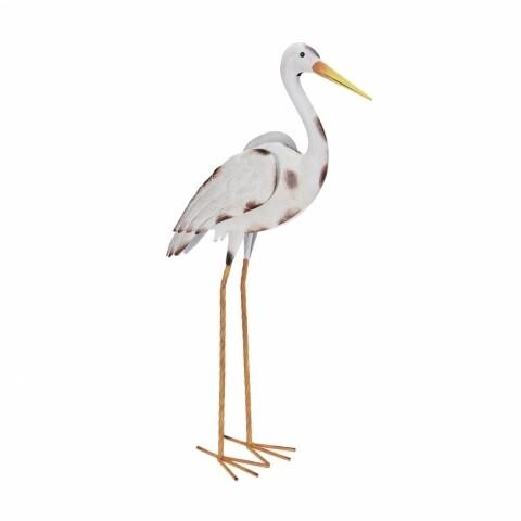 Decorațiune Stork I, metal, 35x9x74 cm