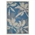 Covor indoor outdoor Floorita PALMS BLUE 160X230
