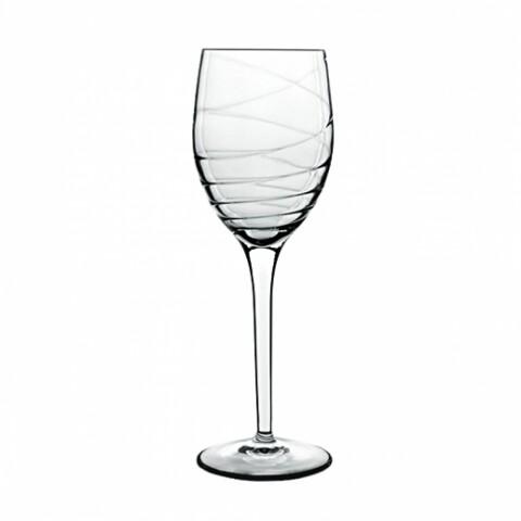 Set 4 pahare vin, Romantica, Luigi Bormioli