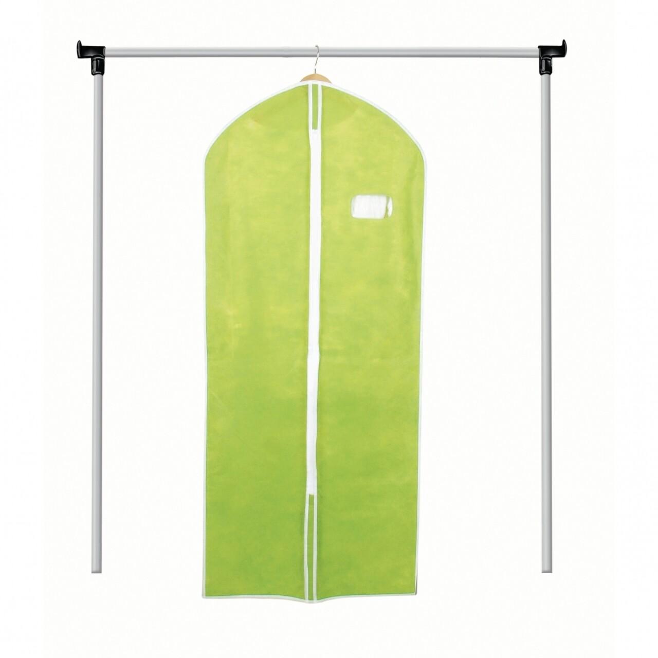 Husa pentru haine Green, Jocca, 60x134 cm, polipropilena, verde