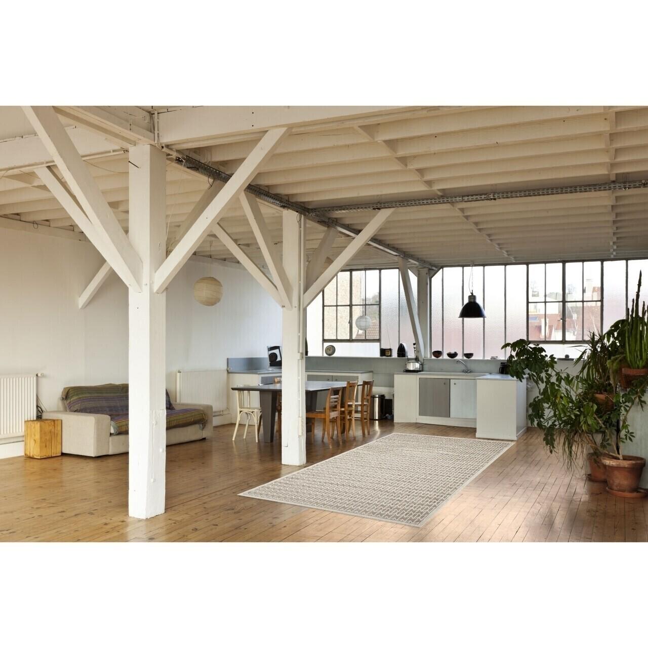 Covor indoor outdoor Floorita STUOIA MINK 155X230