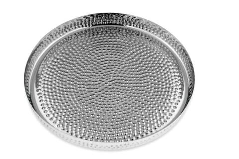 Tava pentru servire, Hermann Bauer, 40x4 cm, inox, argintiu