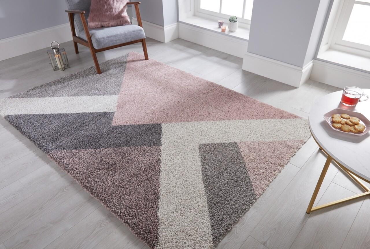 Covor Dakari Zula Multi Pink, Flair Rugs, 160 x 230 cm, 100% polipropilena, roz