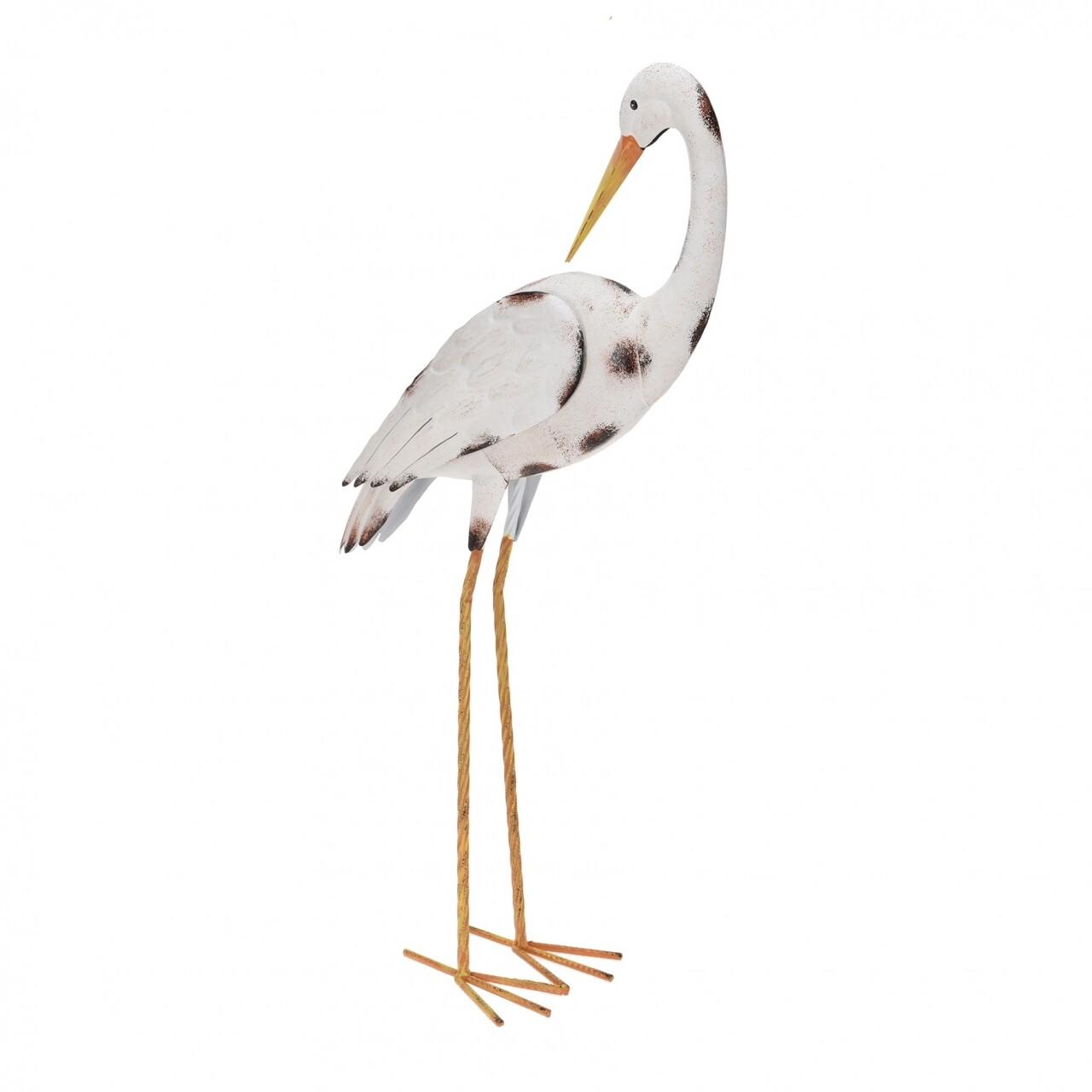 Decorațiune Stork II, metal, 35x9x74 cm