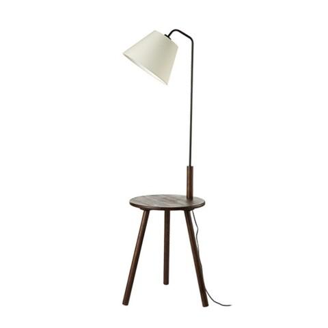 Lampa de podea Aca Lighting, Modern Wood Table, E27, 40W