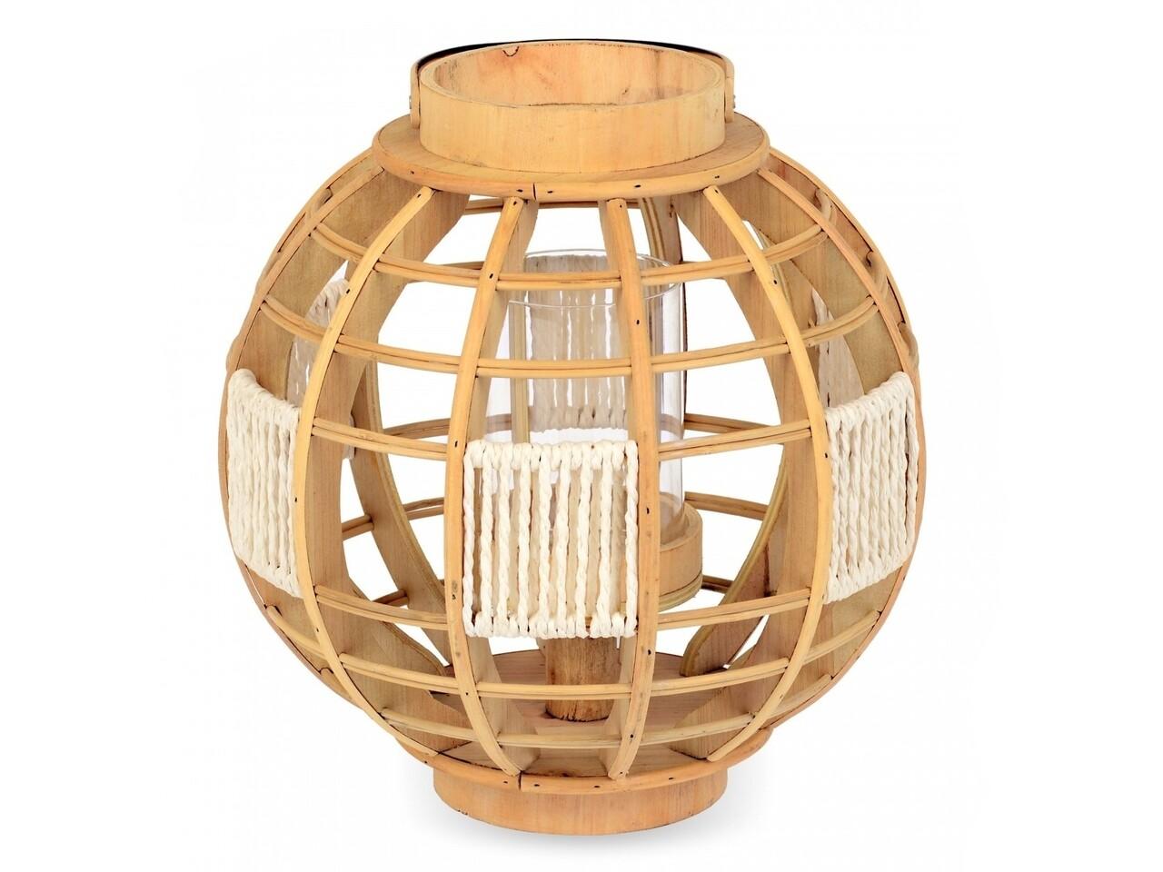 Lanternă tip felinar din lemn
