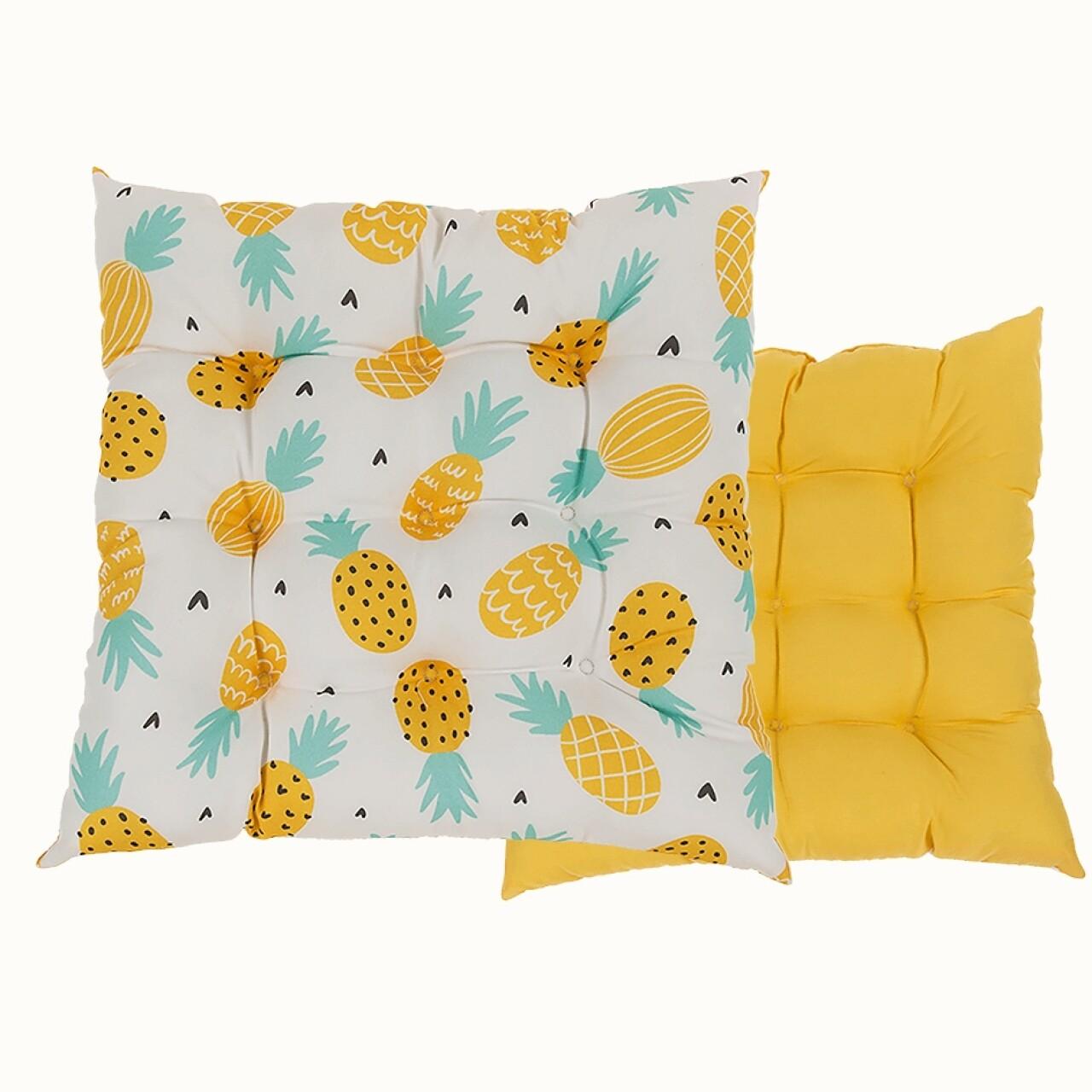Pernă pentru scaun Pineapple