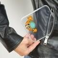 Suport masca pentru buzunar, Snips, Emoji, 11 x 12.4 x 1.2 cm, polipropilena