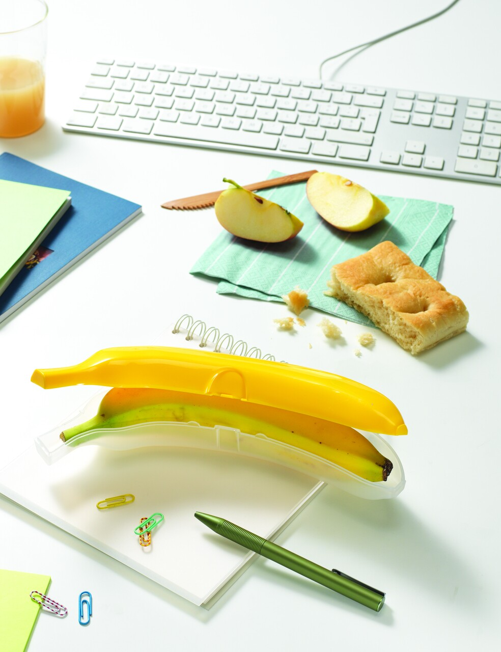 Cutie depozitare banana, Snips, Banana Guard, 25x5.5x5.5 cm, polipropilena