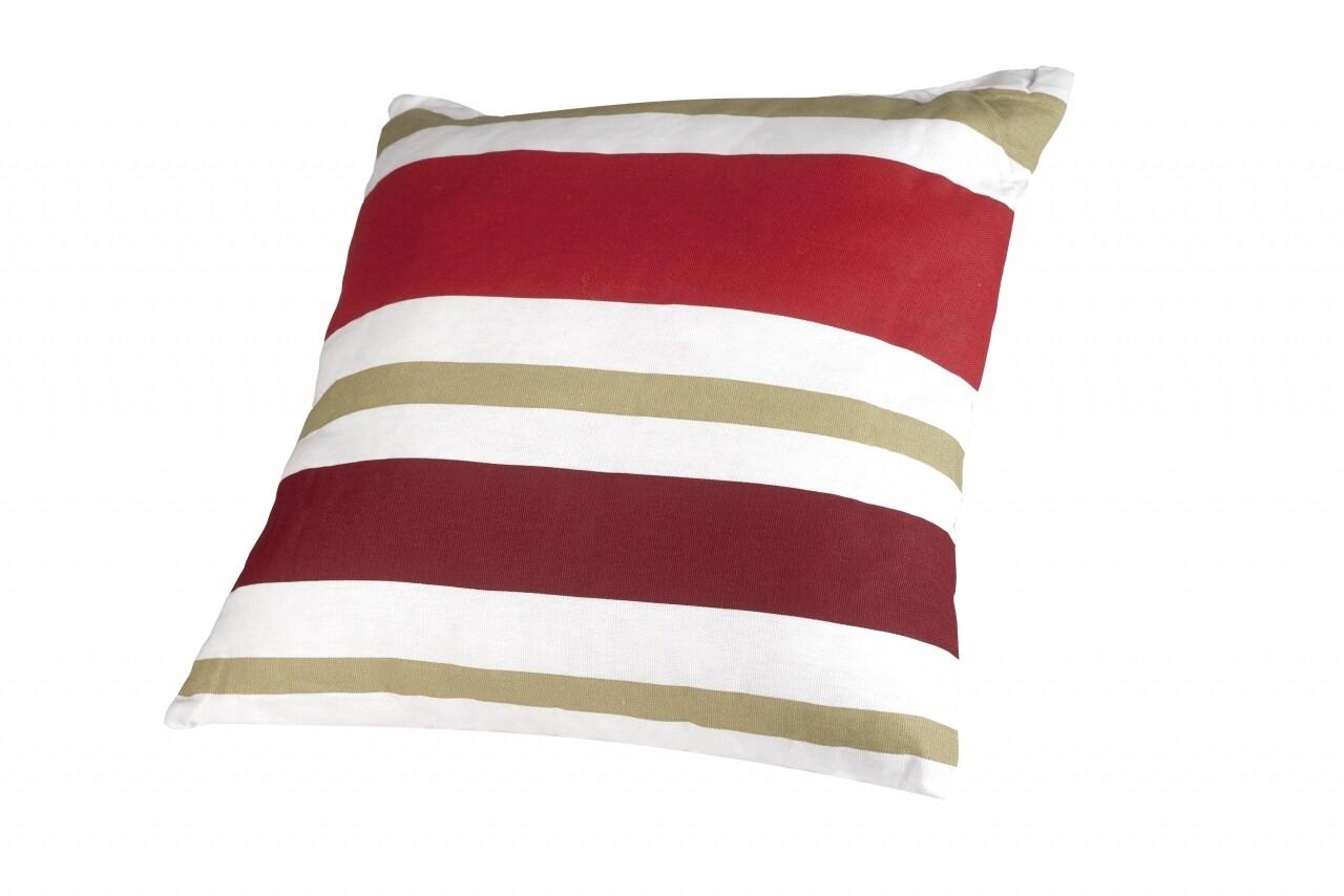 Perna decorativa 40x40 Red Stripes