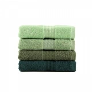 Set 4 prosoape de maini Green Delight, Hobby,  50 x 90 cm, 100% bumbac, verde