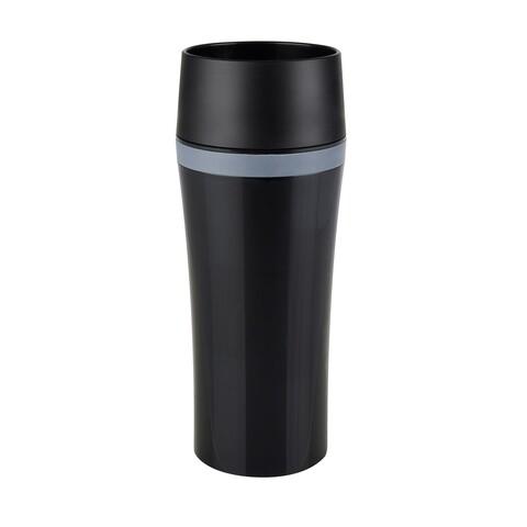 Cana termos Tefal, 360 ml, plastic, negru