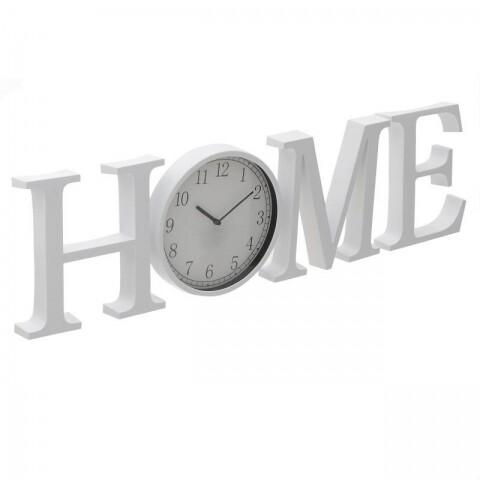 Ceas de perete InArt, 94x4x25 cm, Home White