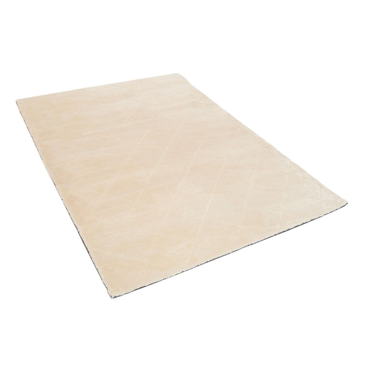 Covor Shaggy Soft, Heinner, 50 x 90 cm, 100% poliester, bej