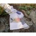 Set 2 prosoape de baie Heron, Aglika, 50 x 100 cm/ 50 x 30 cm, 70% bumbac, 30% microfibra, multicolor