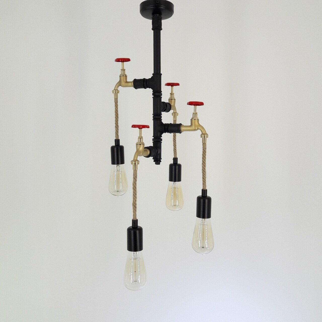 Candelabru All Design, metal, 60x33x33 cm, Black