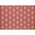 Covor indoor outdoor Floorita GRECA RED 133X190