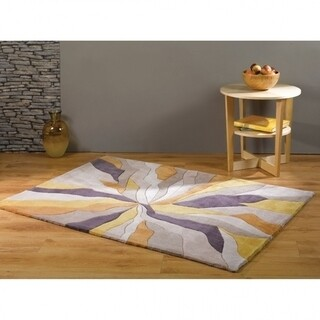 Covor Infinite Splinter Ochre, Flair Rugs, 120X170 cm, 100% poliester, bej