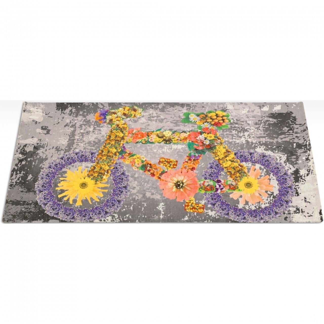 Covor rezistent Webtappeti Bike 60x240 cm, multicolor