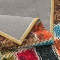 Covor rezistent Webtappeti Patchwork 60 x 190 cm, multicolor