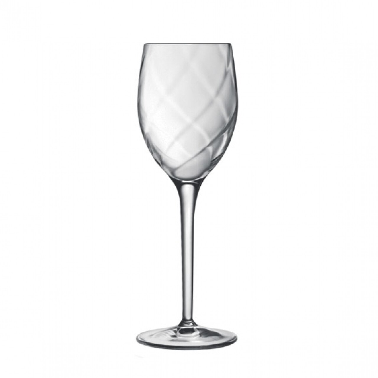 Set 4 pahare vin rosu Canalleto Flute, Luigi Bormioli, 266 ml, cristalit, transparent