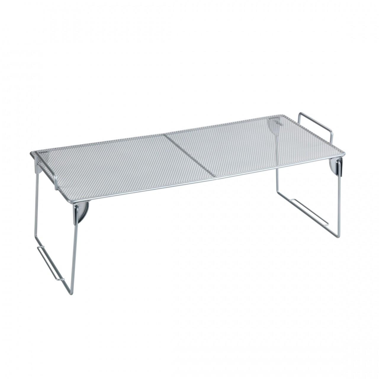 Suport pentru bucatarie Wenko, 45 x 15 x 20 cm, metal, argintiu