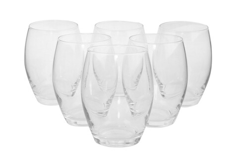 Set 6 pahare Spark, Pasabahce, 8.5 x 10.9 cm, sticla, transparent