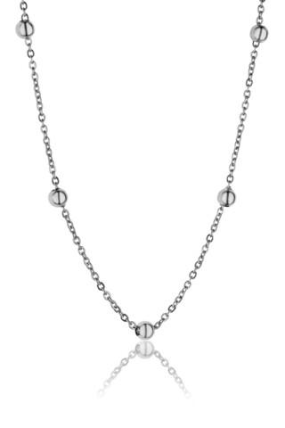 Lantisor, Emily Westwood, Bubbled, inox, argintiu