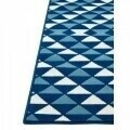 Covor indoor outdoor Floorita TRIANGLES NAVY 160X230
