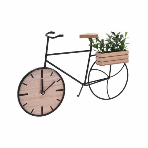 Ceas de masă cu floare artificială