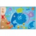 Covor Matrix Kiddy Under The Sea Blue 100X160 cm