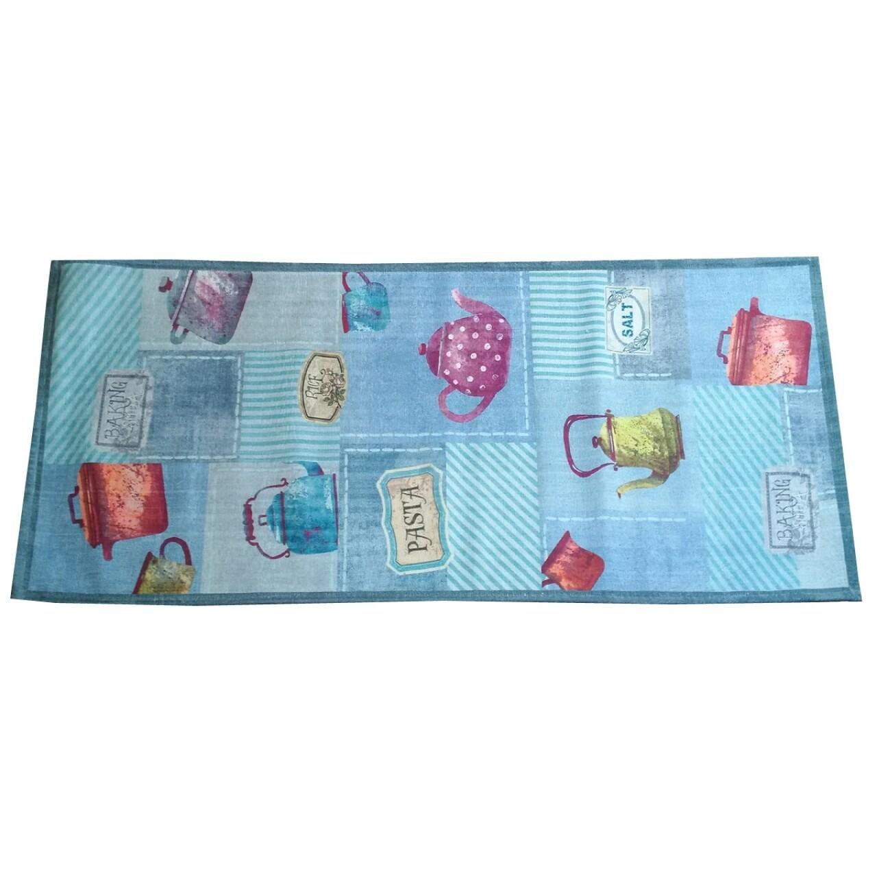 Covor rezistent Webtappeti Pots 60 x 115 cm, multicolor