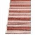 Covor indoor outdoor Floorita RIGA RUST RED 135X190