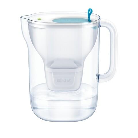 Cana filtranta Brita, Style MAXTRA+, plastic, 2.4 L, albastru