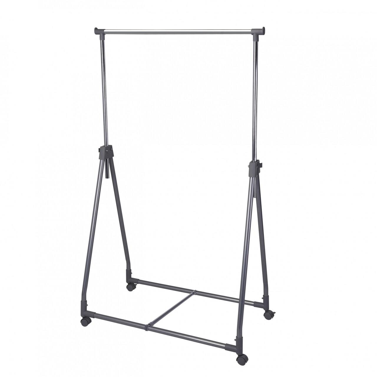 Suport pentru haine cu 4 roti, Clothing Rack, 91 x 22 x 93 cm, metal