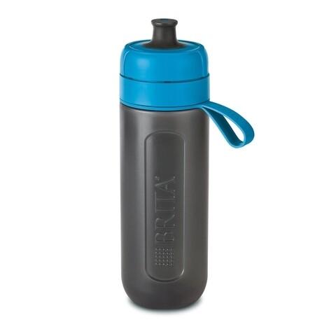 Sticla filtranta Brita, Fill&Go Active, 600 ml, albastru