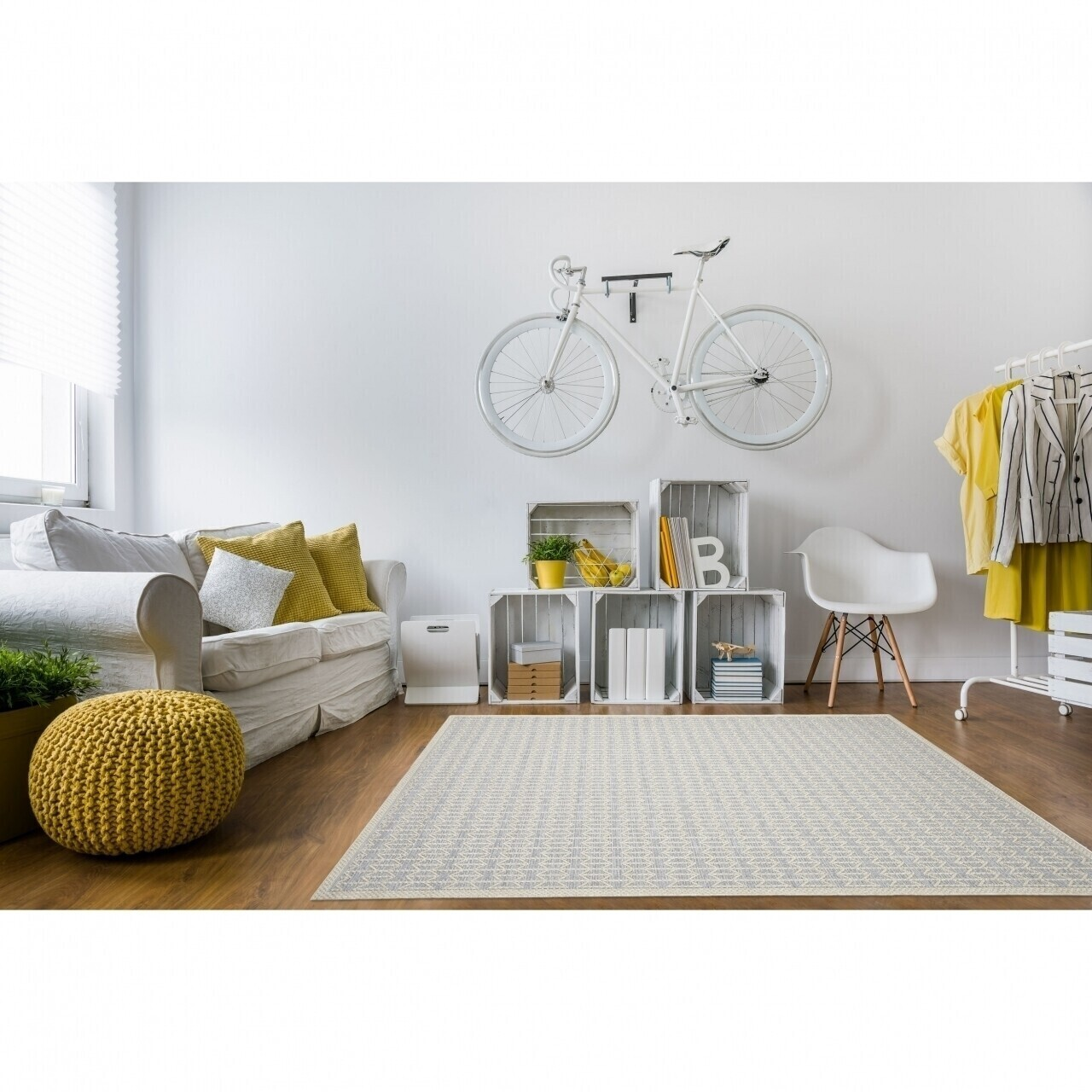 Covor indoor outdoor Floorita STUOIA SILVER 130X190