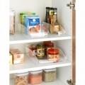 Set 3 cutii de depozitare, Wenko, pentru dulap si frigider