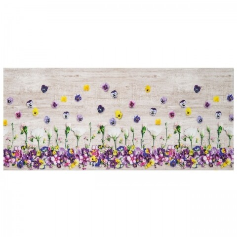 Covor rezistent Webtappeti Viole del Pensiero 58 x 240 cm, multicolor