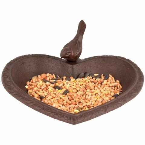 Hrănitor/baie pentru păsări Heart