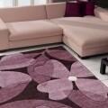 Covor Intarsio Flower Lilla 120X170 cm, mov