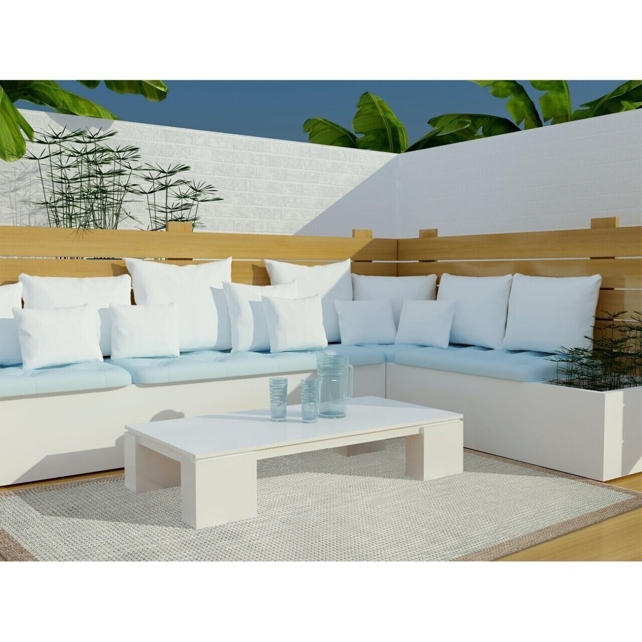 Covor indoor outdoor Floorita CHROME AQUA 135X190