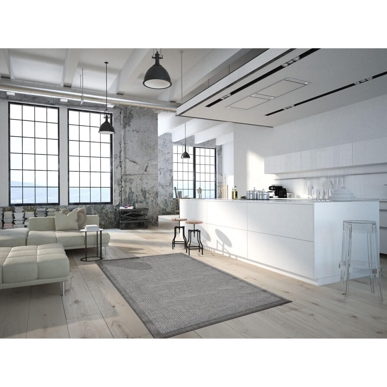 Covor indoor outdoor Floorita CHROME GREY 135X190