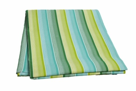 Fata de masa Green Stripes, Heinner Home, 150 x 200 cm, 100% bumbac, multicolora