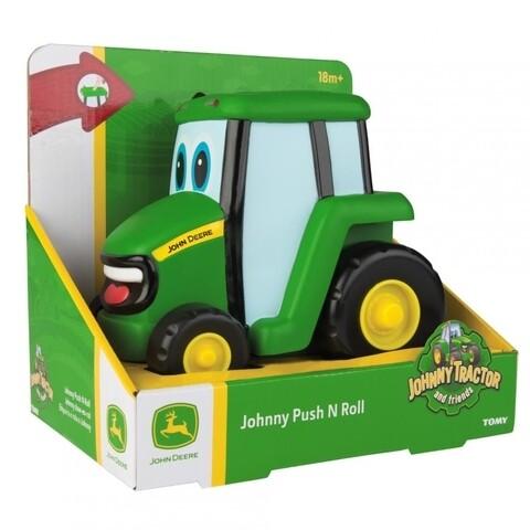 Tractoras cu buton Johnny, John Deere, verde