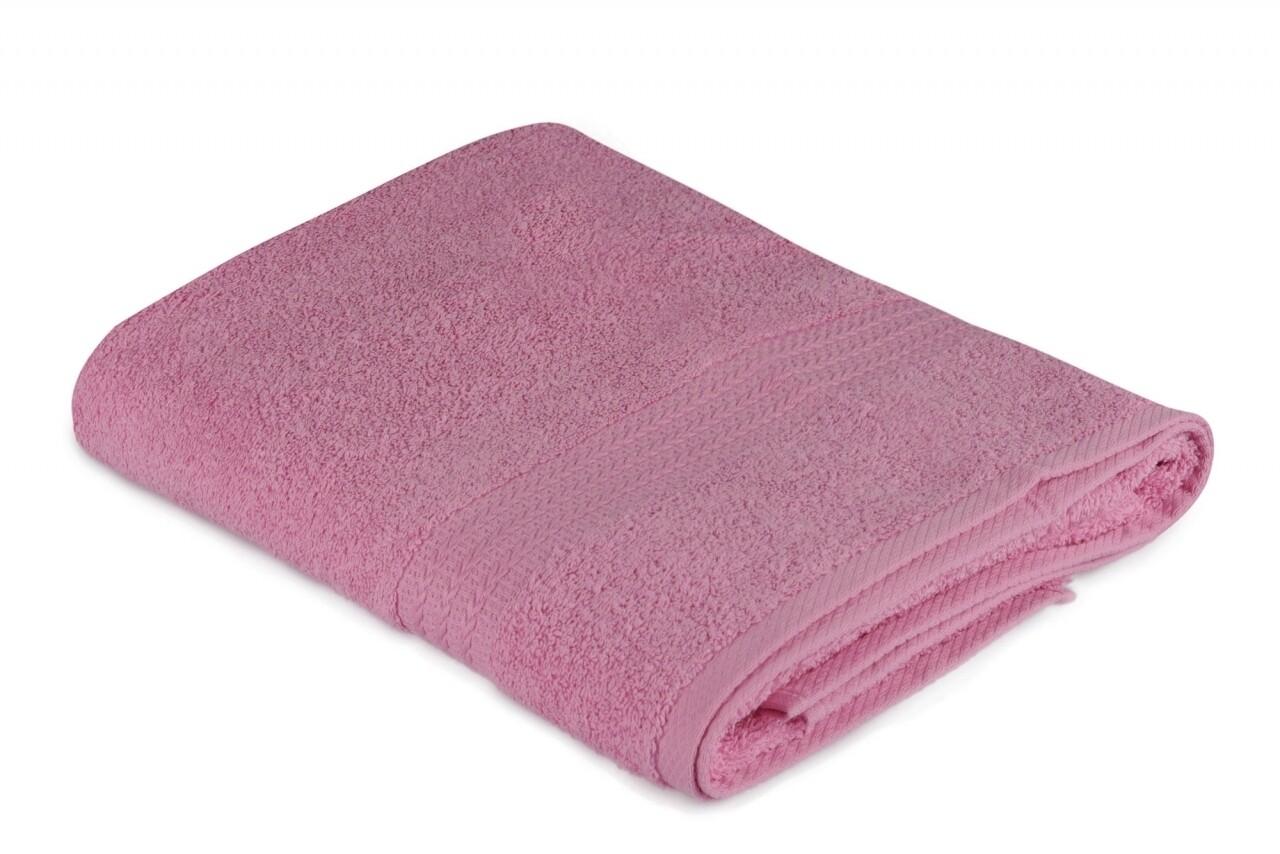 Prosop de baie, Hobby, 70x140 cm, 100% bumbac, roz