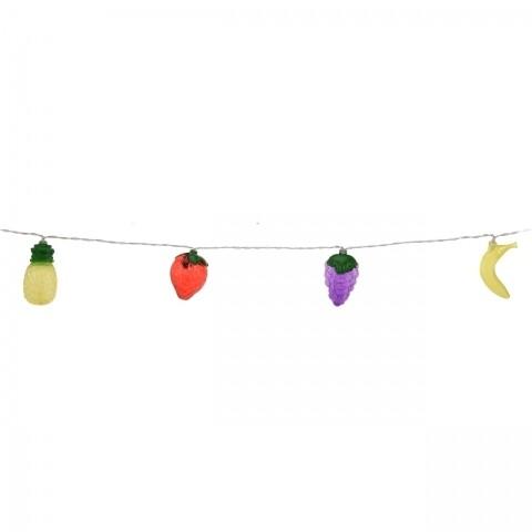 Ghirlandă cu 10 Led-uri Party Fruits