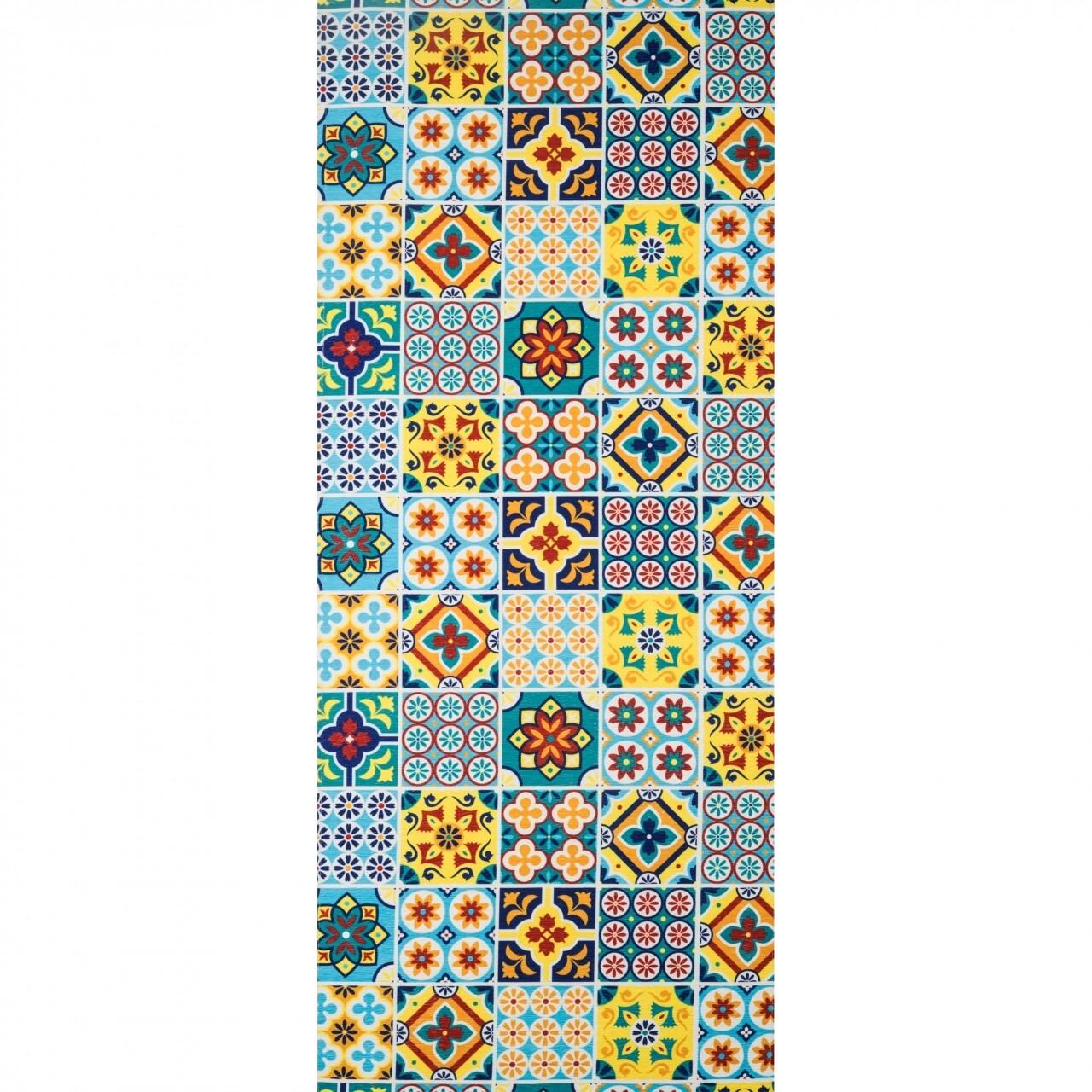 Covor rezistent Webtappeti CERAMICA2 CM 58x140 cm, multicolor