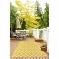 Covor indoor outdoor Floorita INTERLACED YELLOW 133X190